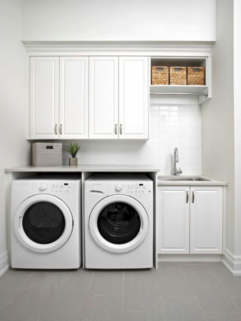 Best ideas about Laundry Room Designs . Save or Pin 30 Small Laundry Room Decorating Ideas To Inspire You – ROOMY Now.