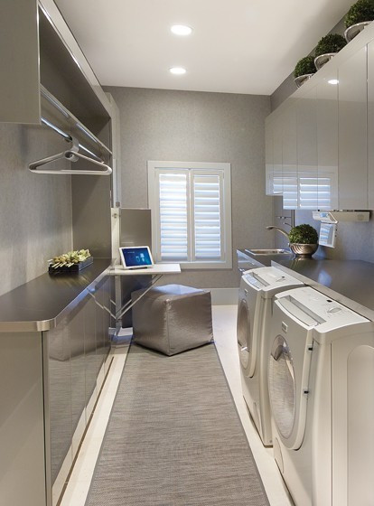 Best ideas about Laundry Room Designs . Save or Pin 70 Functional Laundry Room Design Ideas Shelterness Now.