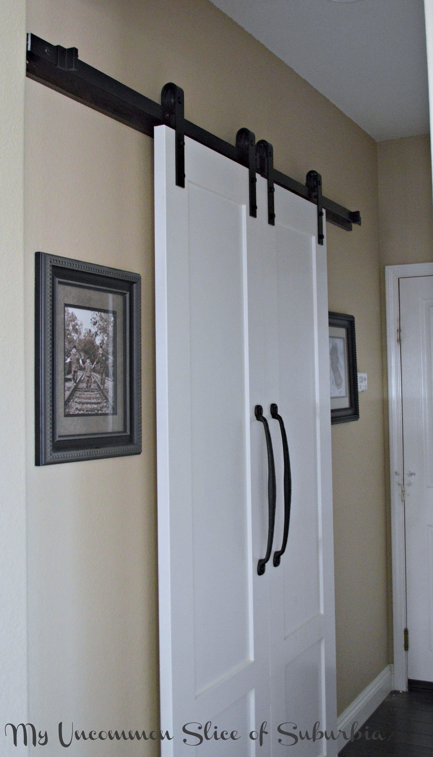 Best ideas about Laundry Room Doors . Save or Pin Barn Doors For The Laundry Room Now.