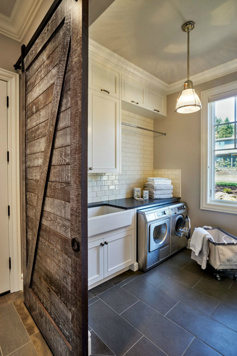 Best ideas about Laundry Room Doors . Save or Pin Bring Some Country Spirit to Your Home With Interior Barn Now.