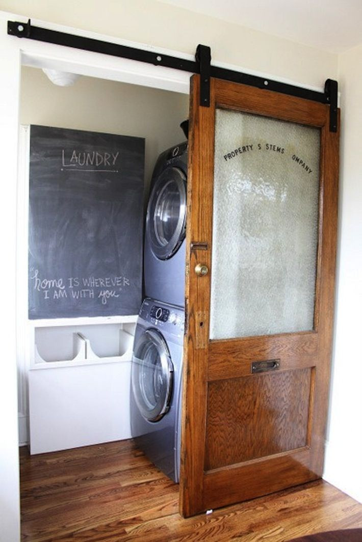 Best ideas about Laundry Room Doors . Save or Pin barn doors Now.