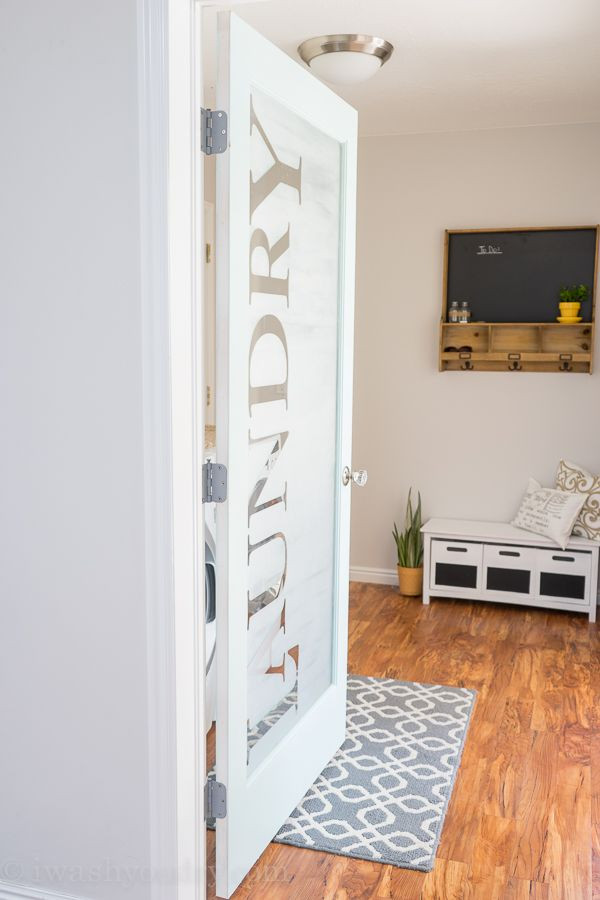 Best ideas about Laundry Room Doors . Save or Pin Selecting doors for a laundry room closet Now.