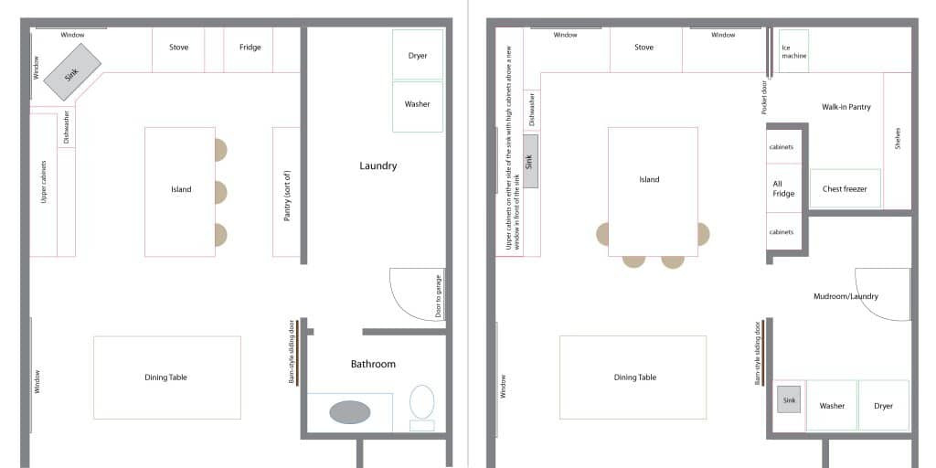 Best ideas about Laundry Room Floor Plans . Save or Pin All The Laundry Room Plans Chris Loves Julia Now.