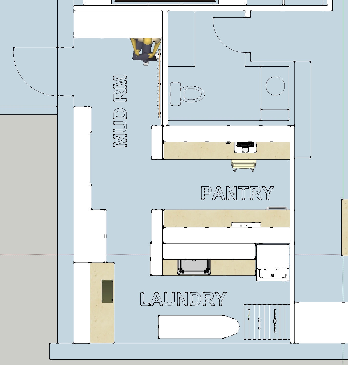 Best ideas about Laundry Room Floor Plans . Save or Pin Parankewich Manor – Walkout Level – Generation Suite Now.
