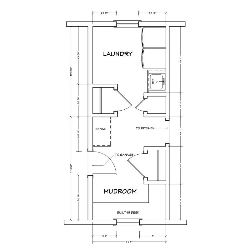 Best ideas about Laundry Room Floor Plans . Save or Pin Creating a Fresh Look for an Outdated Laundry Room and Now.