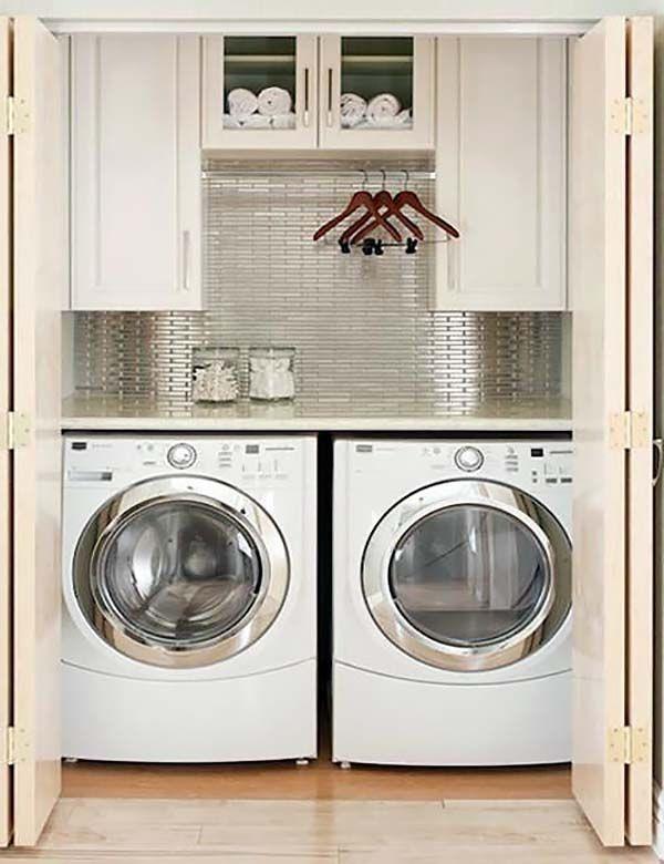 Best ideas about Laundry Room Ideas Pinterest . Save or Pin Small Laundry Room Best 25 Small Laundry Closet Ideas Now.