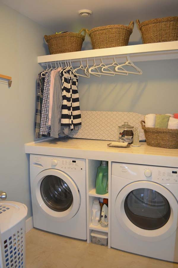 Best ideas about Laundry Room Ideas Pinterest . Save or Pin Pinterest Home Decorating Ideas Laundry Room Now.