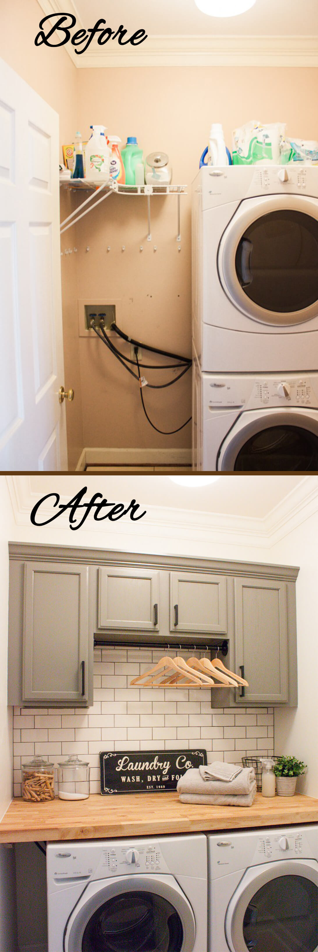 Best ideas about Laundry Room Makeover . Save or Pin 23 Best Bud Friendly Laundry Room Makeover Ideas and Now.