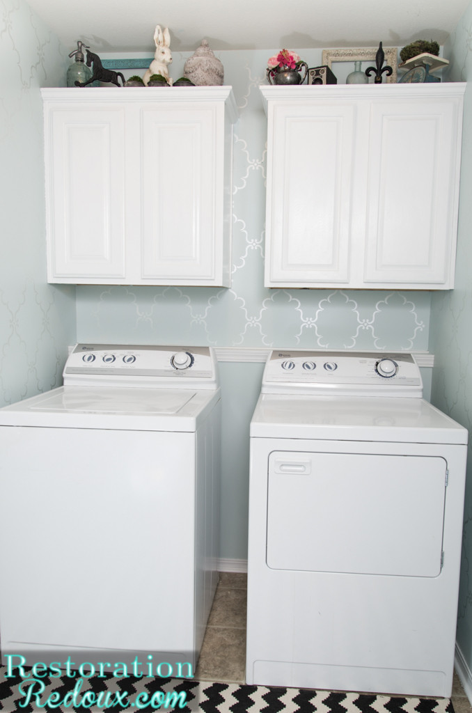 Best ideas about Laundry Room Makeover . Save or Pin Vintage Cabinet turned Laundry Hamper Daily Dose of Style Now.