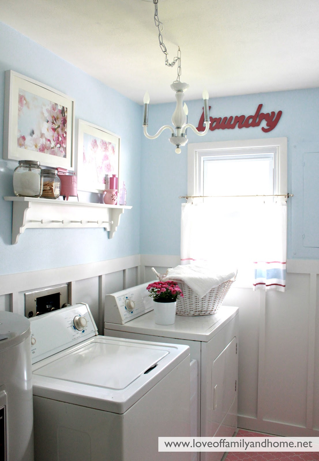 Best ideas about Laundry Room Makeover . Save or Pin Laundry Room Reveal Take 2 Love of Family & Home Now.