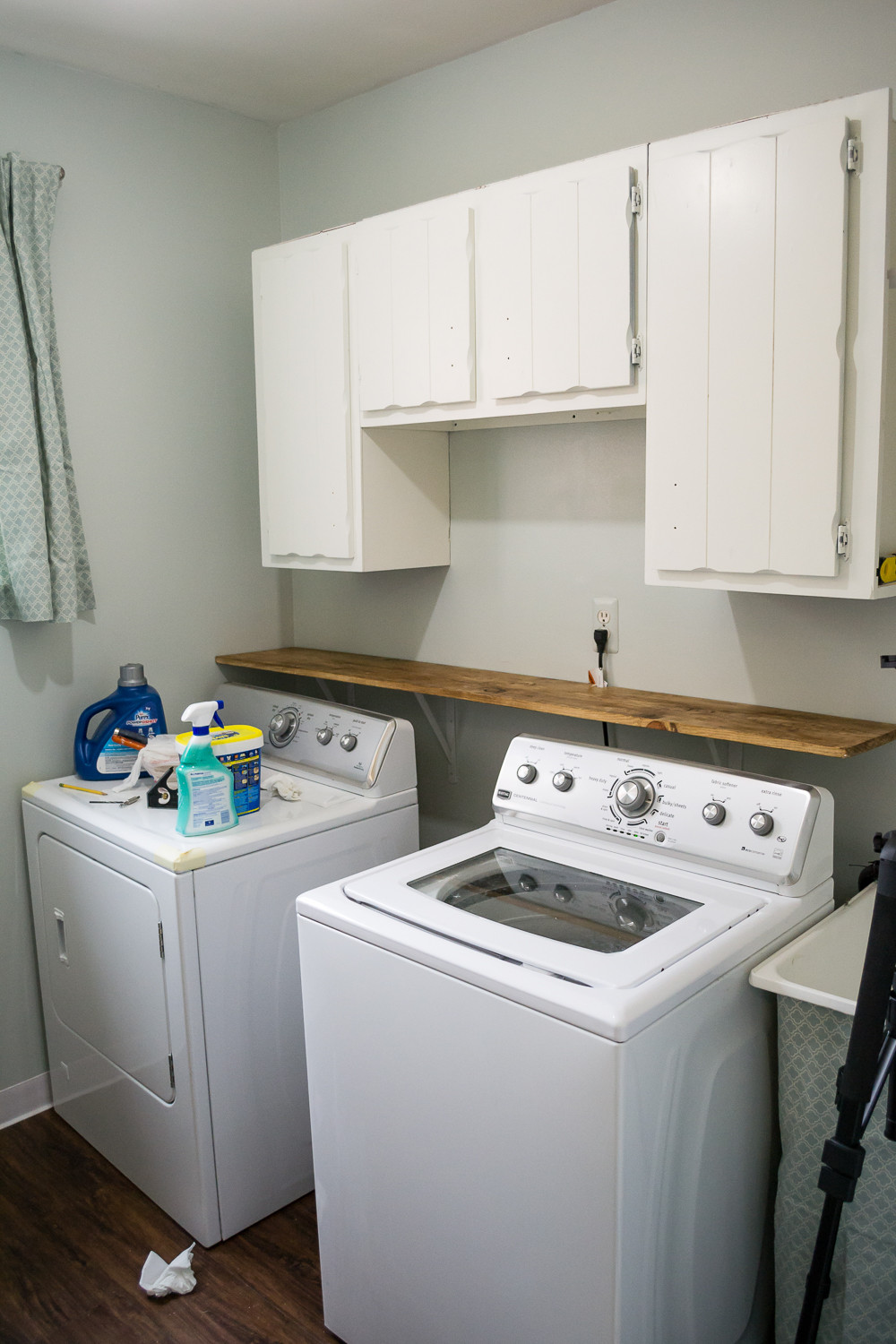 Best ideas about Laundry Room Makeover . Save or Pin This $300 Laundry Room Makeover Will Make Your Jaw Drop Now.