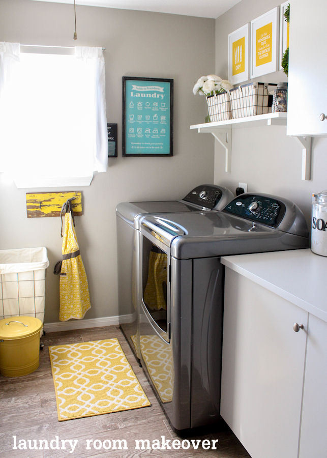 Best ideas about Laundry Room Makeover . Save or Pin 9 Totally Do able DIY Laundry Room Makeovers Now.