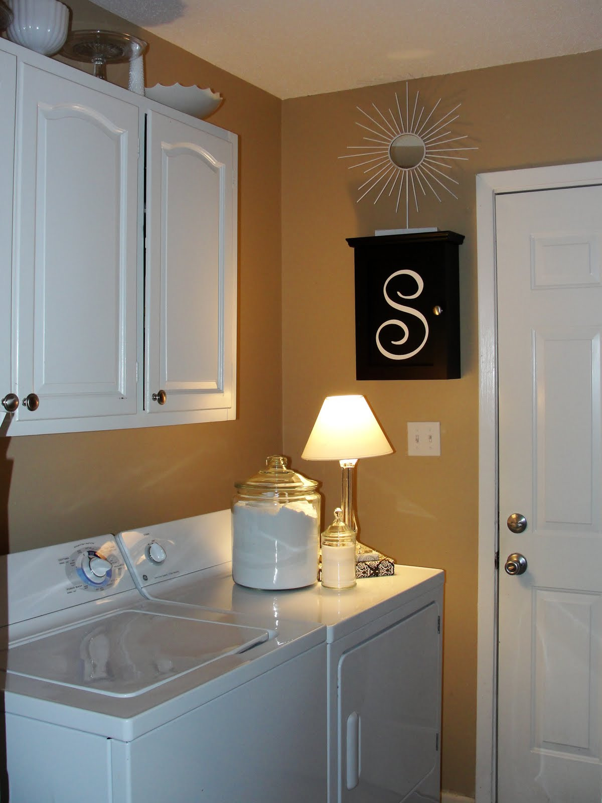 Best ideas about Laundry Room Makeover . Save or Pin Imperfectly Beautiful Laundry Room Mini Makeover Now.