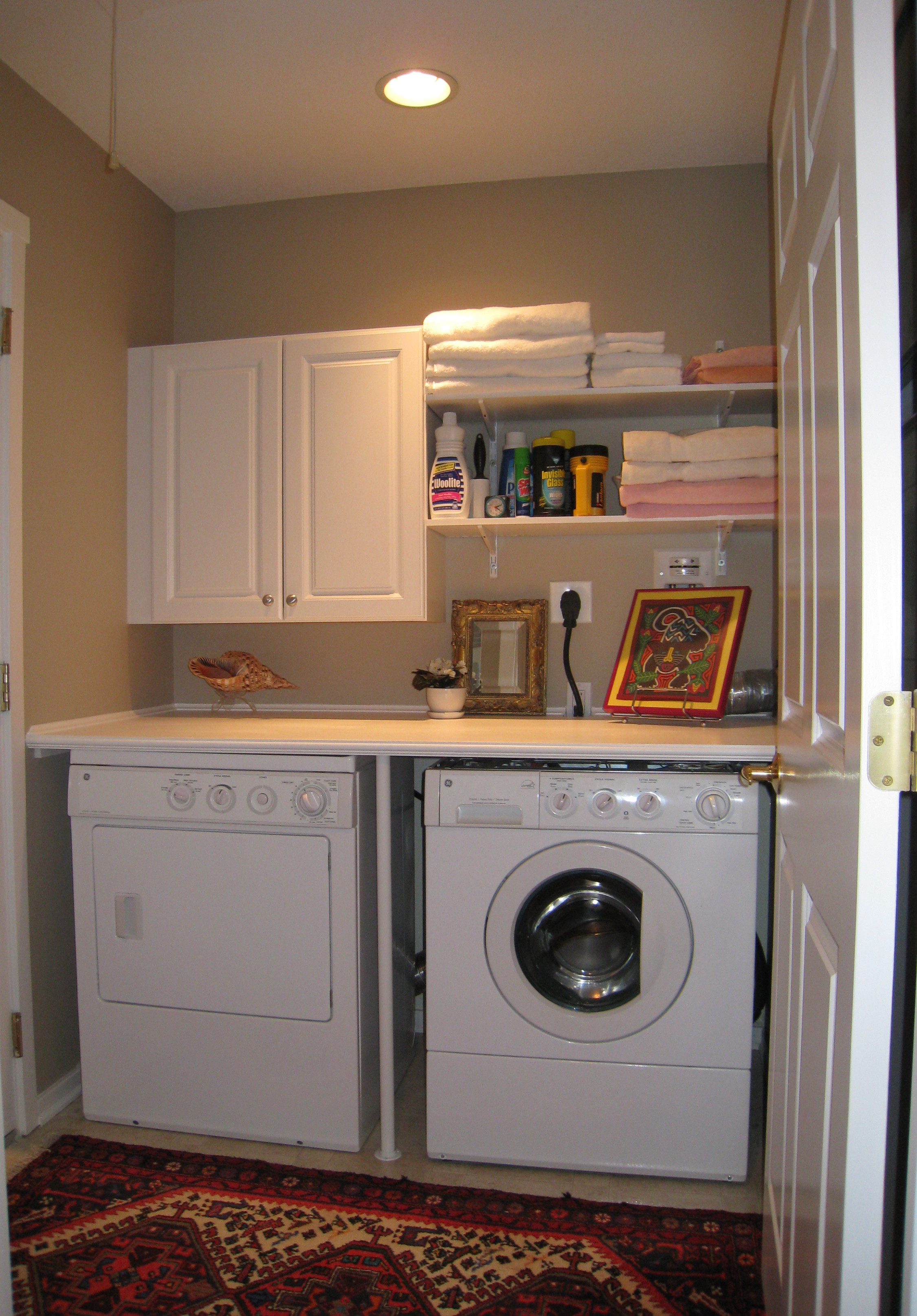 Best ideas about Laundry Room Makeover . Save or Pin Laundry Room Makeover AtWell Staged Home Now.