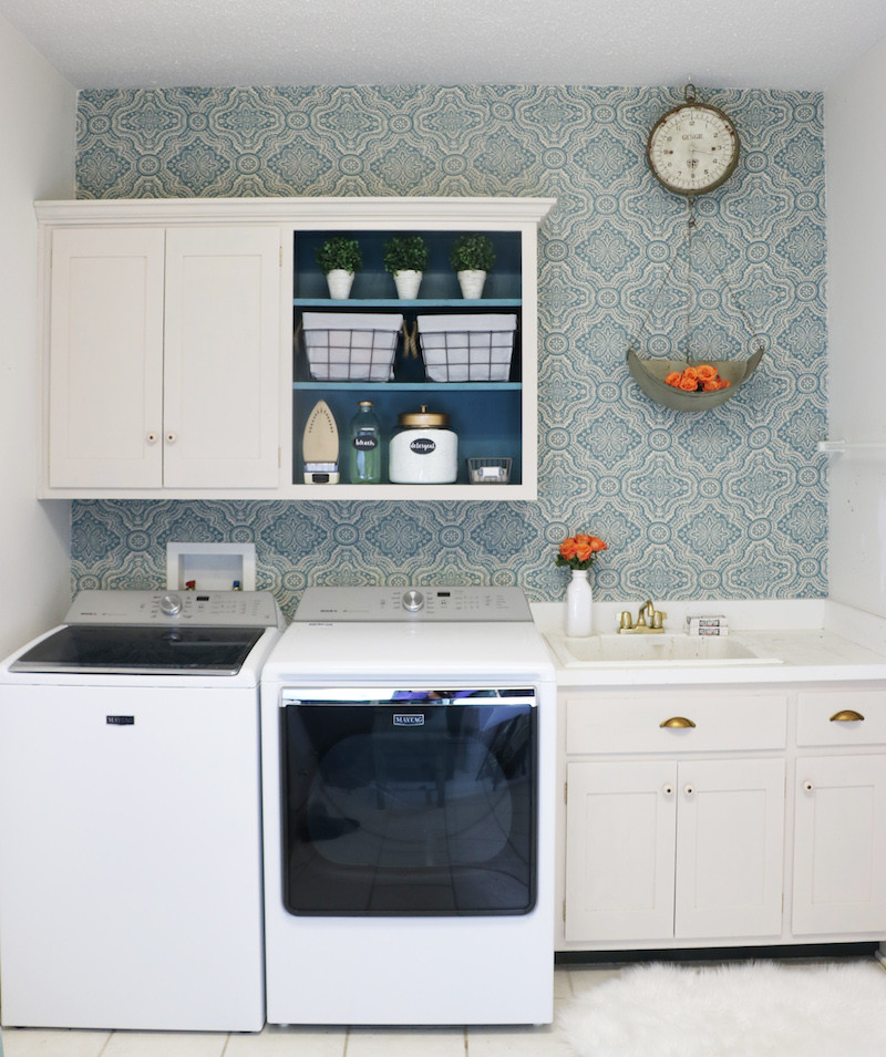Best ideas about Laundry Room Makeover . Save or Pin DIY Laundry Room Makeover Sincerely Sara D Now.