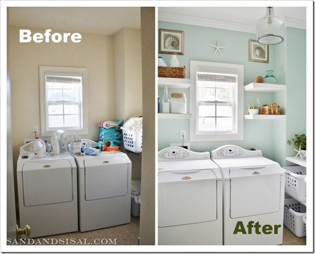 Best ideas about Laundry Room Makeover . Save or Pin Laundry Room Spruce Up Dig This Design Now.
