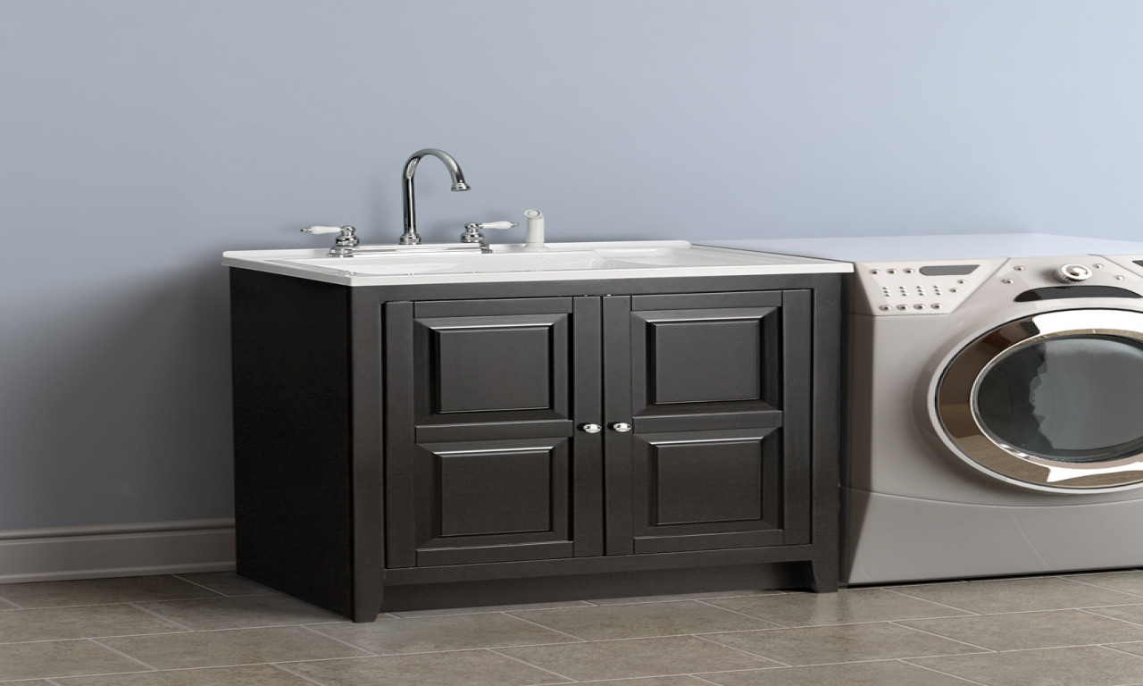 Best ideas about Laundry Room Utility Sink . Save or Pin Laundry room cabinet with sink laundry sinks with Now.