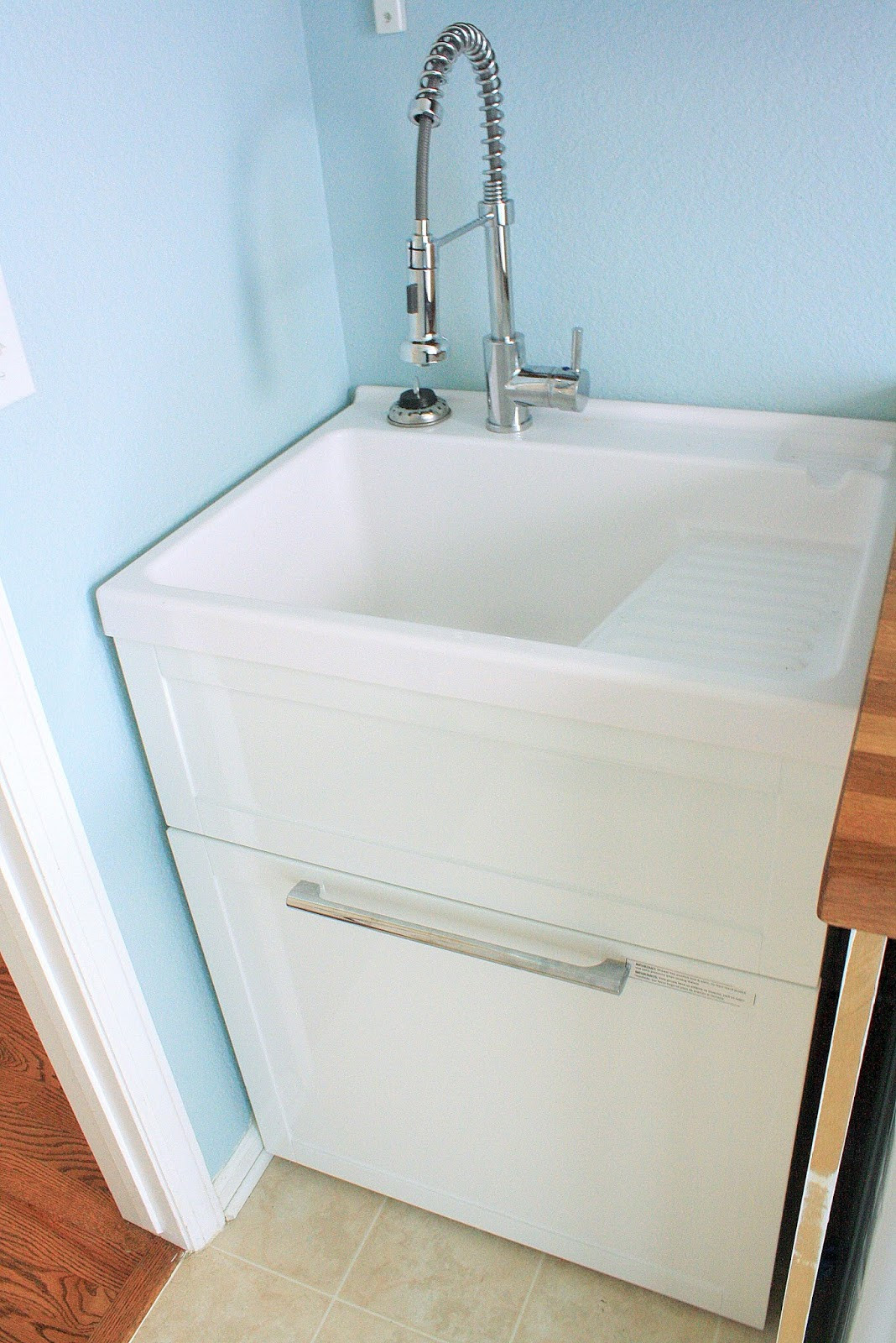 Best ideas about Laundry Room Utility Sink . Save or Pin Tanner Projects Laundry Room Reveal finally Now.