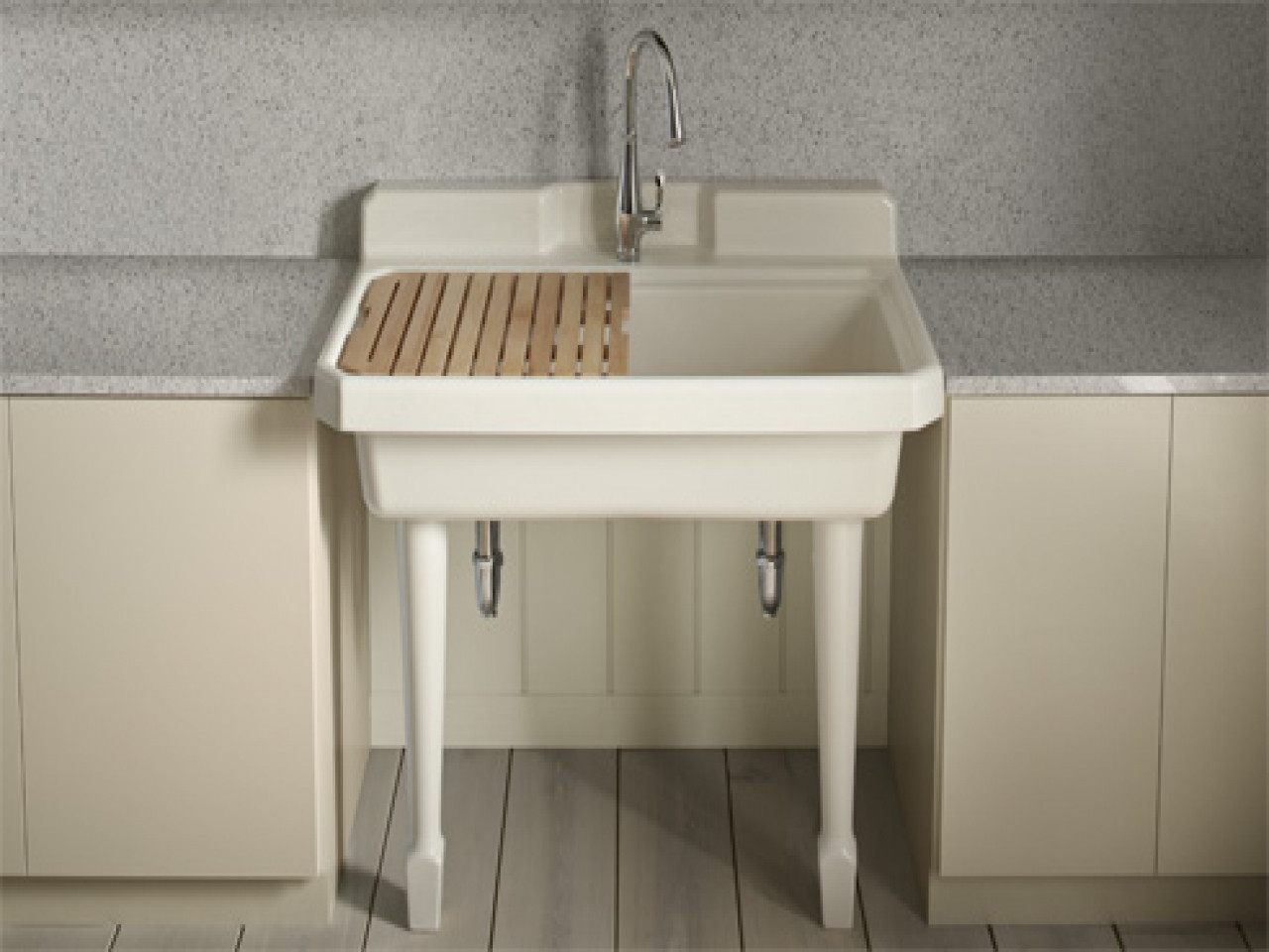 Best ideas about Laundry Room Utility Sink . Save or Pin Kitchen sinks kohler laundry room deep sink kohler Now.
