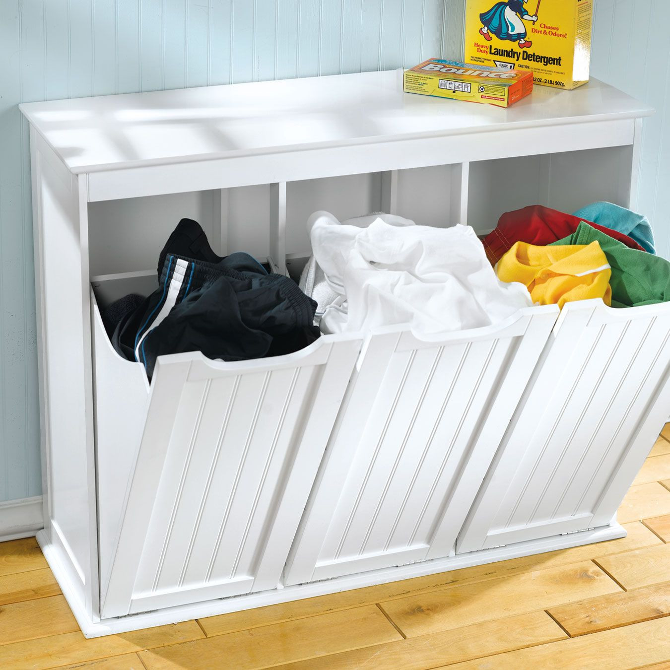Best ideas about Laundry Sorter Cabinet . Save or Pin Cabinets with wheels tilt out laundry hamper cabinet Now.
