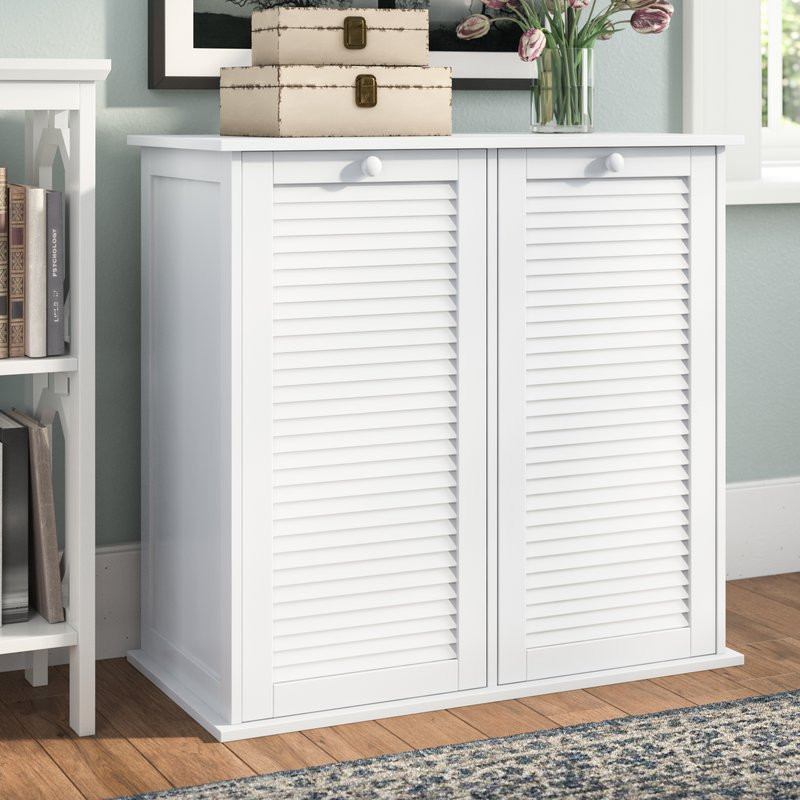 Best ideas about Laundry Sorter Cabinet . Save or Pin Beachcrest Home Cabinet Laundry Hamper & Reviews Now.