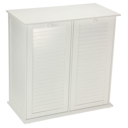 Best ideas about Laundry Sorter Cabinet . Save or Pin Household Essentials Shutter Dual Laundry Sorter Cabinet Now.