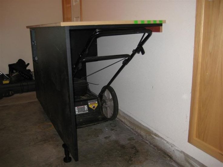 Best ideas about Lawn Mower Garage Storage . Save or Pin Best 25 Shed storage solutions ideas on Pinterest Now.