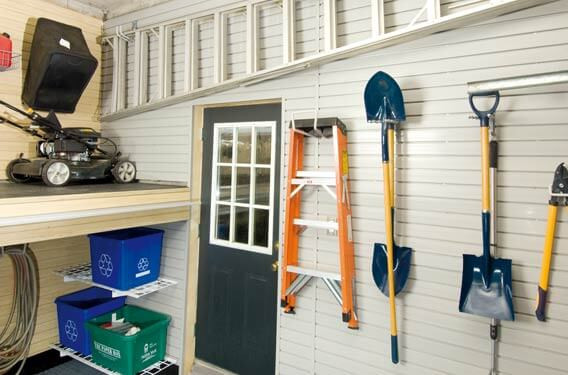 Best ideas about Lawn Mower Garage Storage . Save or Pin Find Space for Hard to Store Items — Nuvo Garage Now.