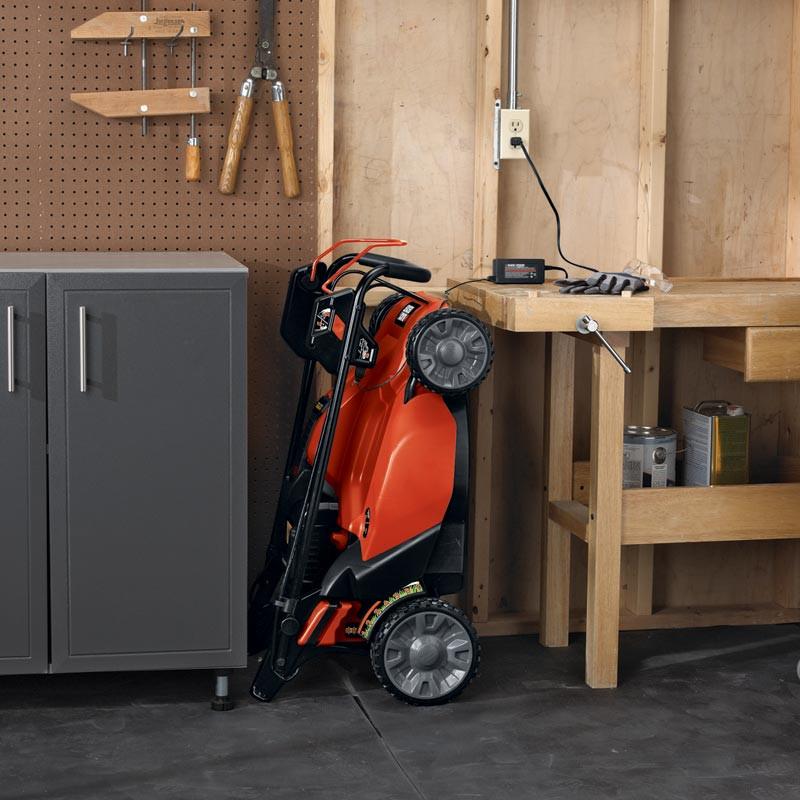 Best ideas about Lawn Mower Garage Storage . Save or Pin Black & Decker SPCM1936 19 Inch 36 Volt Cordless Electric Now.