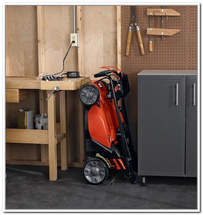 Best ideas about Lawn Mower Garage Storage . Save or Pin My Quotlawn Mower Ladderquot Mower Storage LawnSite Garage Now.