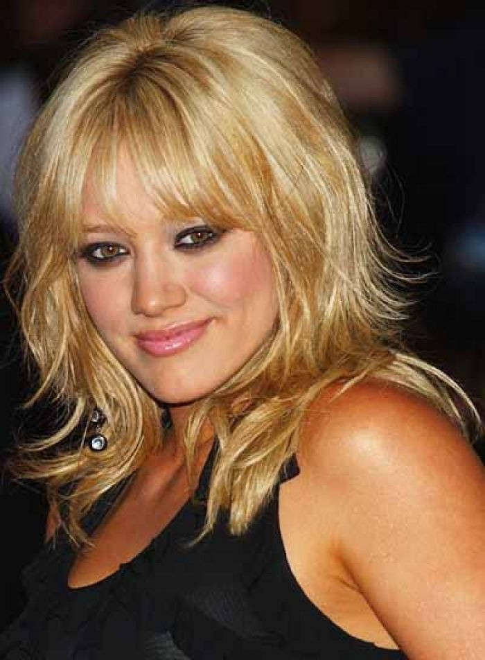 Layered Haircuts For Medium Length Hair  Shoulder Length Hairstyles With Bangs For Women Over 45