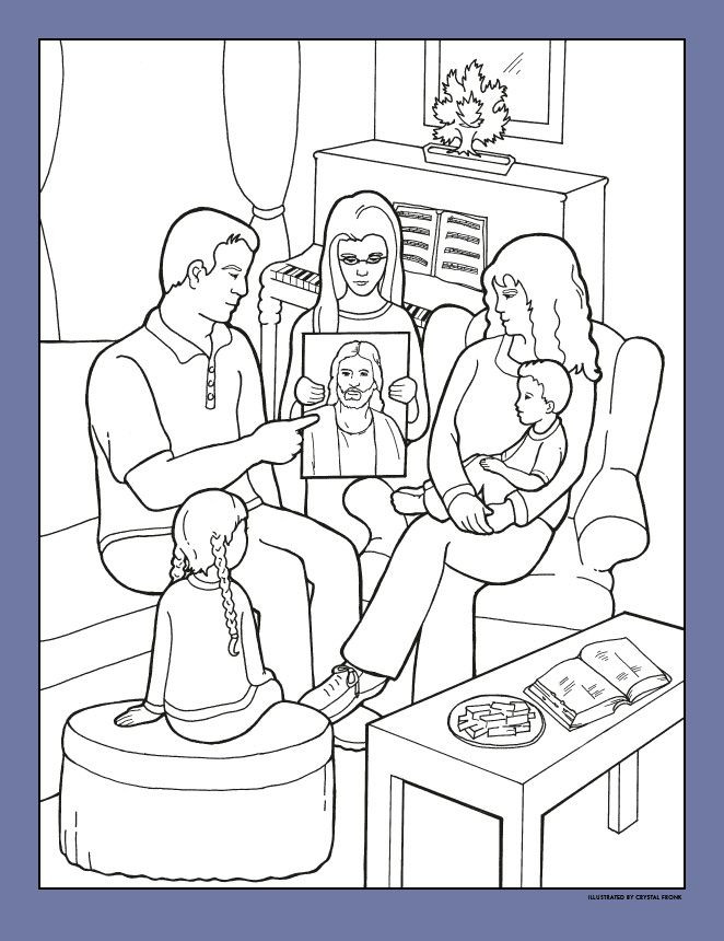 Lds Baptism Coloring Pages  214 best LDS Children s coloring pages images on Pinterest