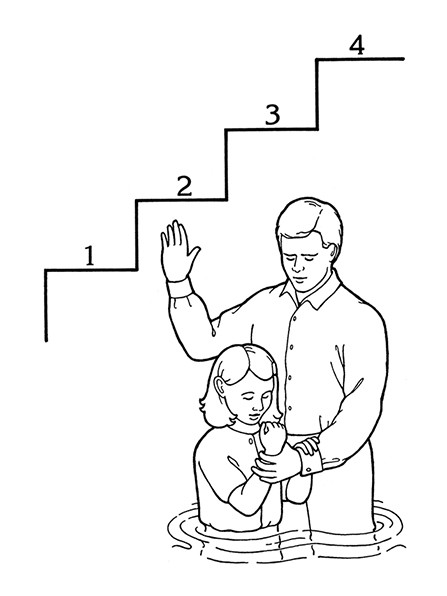 Lds Baptism Coloring Pages  4th Article of Faith—Principles and Ordinances