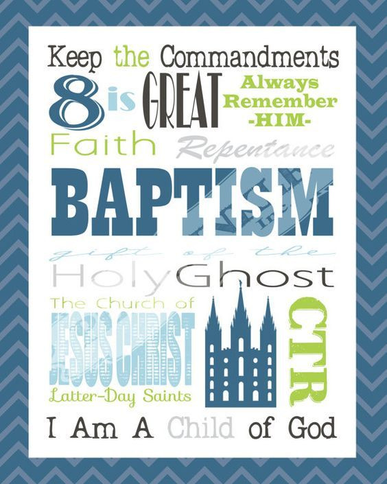 Lds Baptism Gift Ideas For Boys  137 best images about Baptism on Pinterest