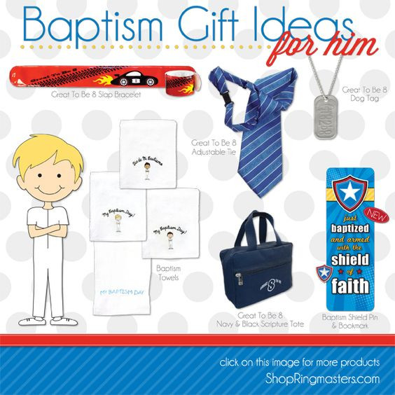 Lds Baptism Gift Ideas For Boys  Great LDS Baptism Gift ideas perfect for any bud