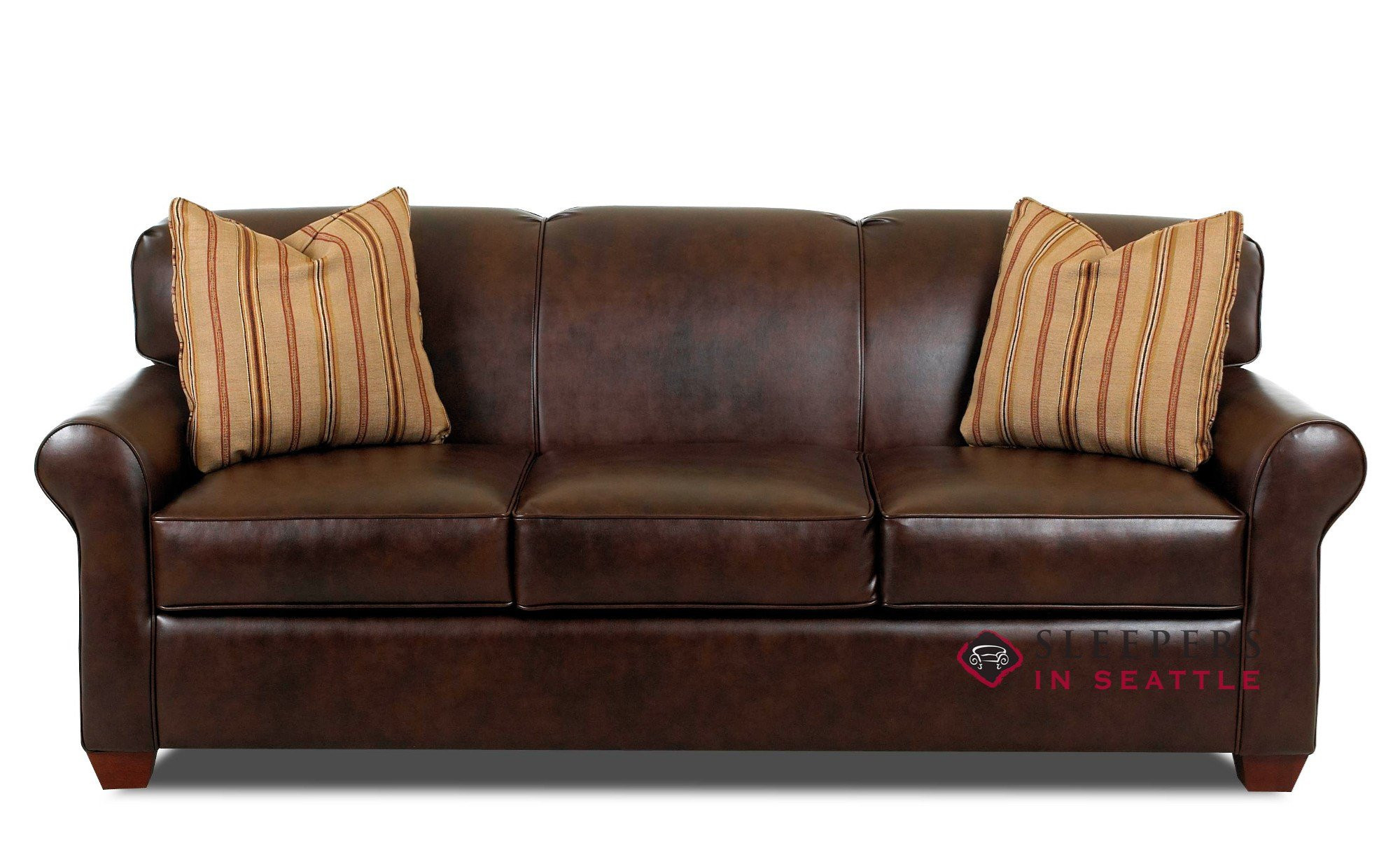 Best ideas about Leather Sofa Sleeper . Save or Pin Customize and Personalize Calgary Queen Leather Sofa by Now.