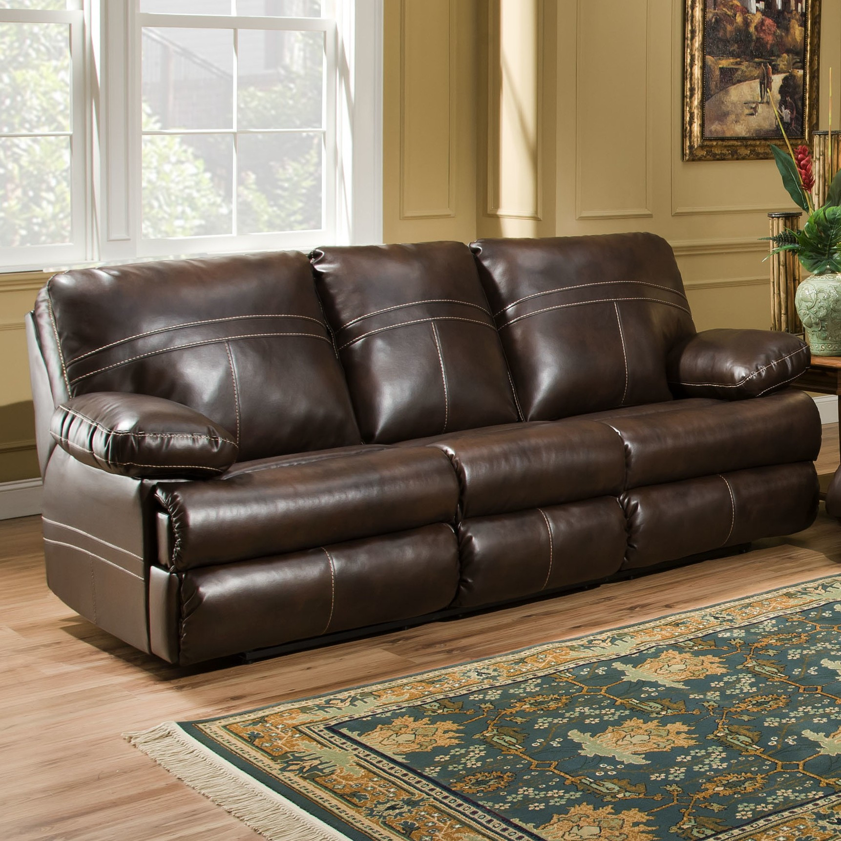 Best ideas about Leather Sofa Sleeper . Save or Pin Ashley Leather Sleeper Sofa Ashley Furniture Leather Now.