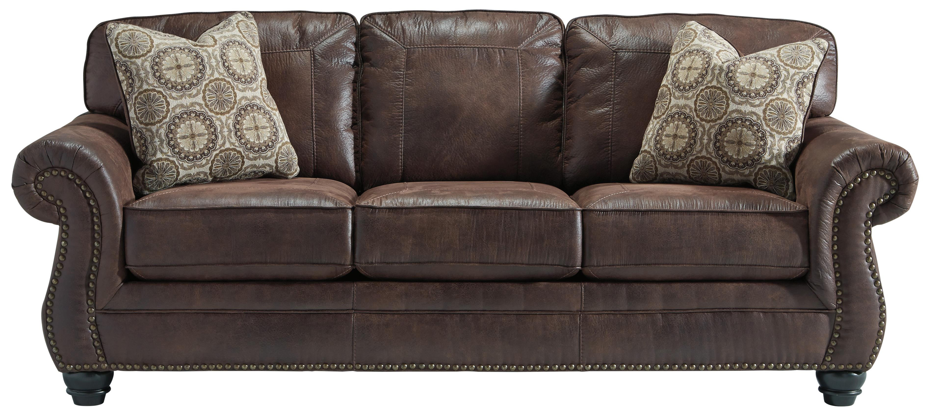Best ideas about Leather Sofa Sleeper . Save or Pin Faux Leather Queen Sofa Sleeper with Rolled Arms and Now.