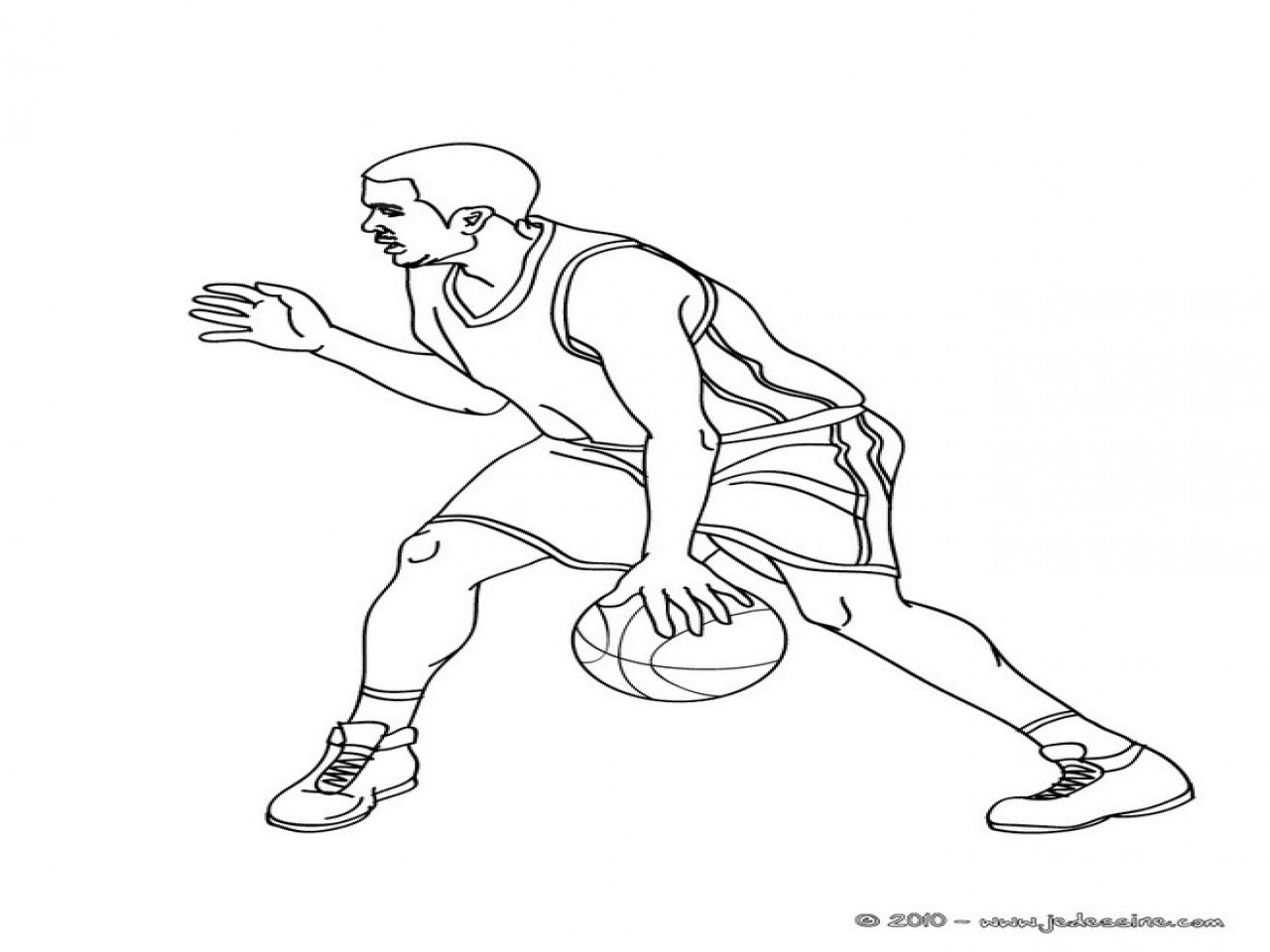 Lebron James Coloring Pages  Lebron Free Colouring Pages