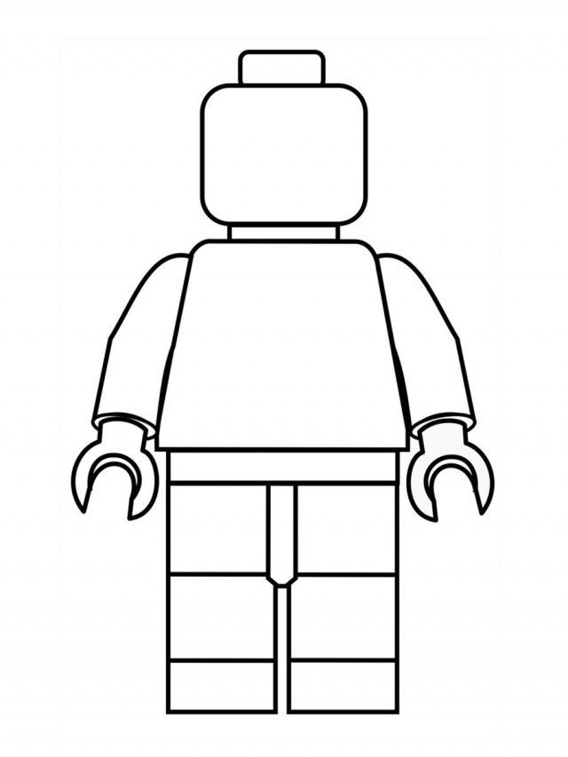 Lego Coloring Pages For Boys  Coloring Pages For Boys Lego – Color Bros