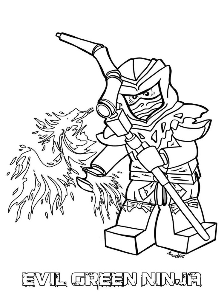 Lego Coloring Pages For Boys  Lego Ninjago coloring pages Free Printable Lego Ninjago