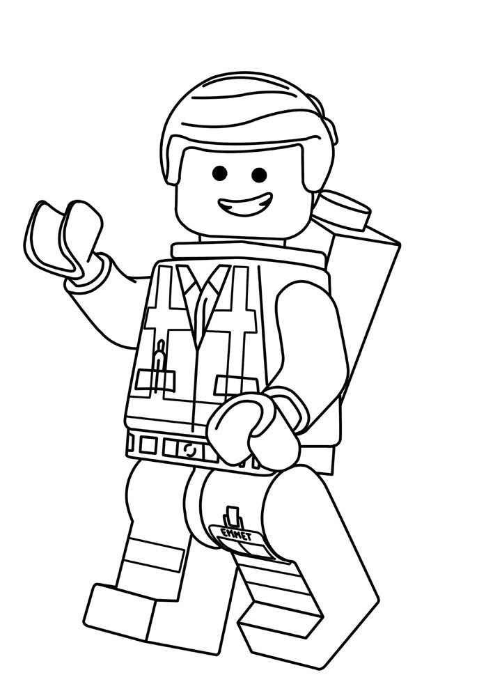Lego Coloring Pages For Boys  20 Lego Movie Coloring Pages ColoringStar