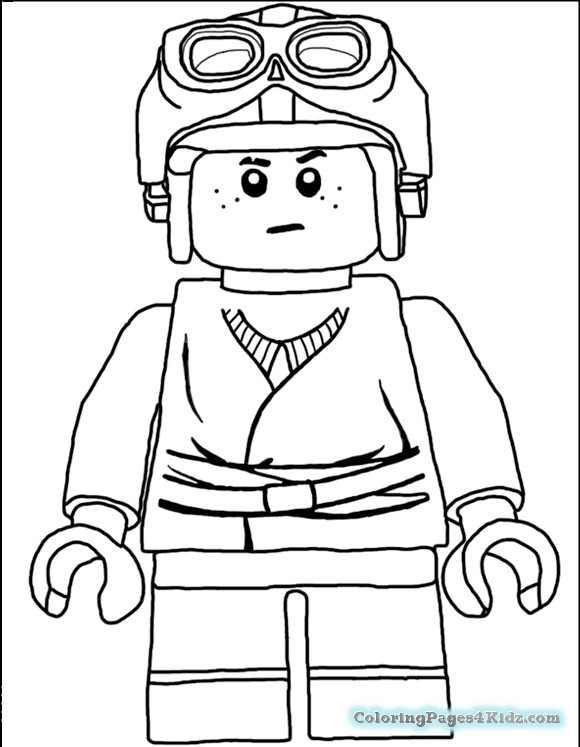 Lego Coloring Pages For Boys  Coloring Pages For Boys Lego Star Wars Carecters Peach