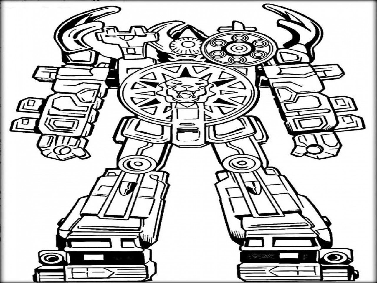 Lego Robot Coloring Pages  Ninja Robots Free Colouring Pages