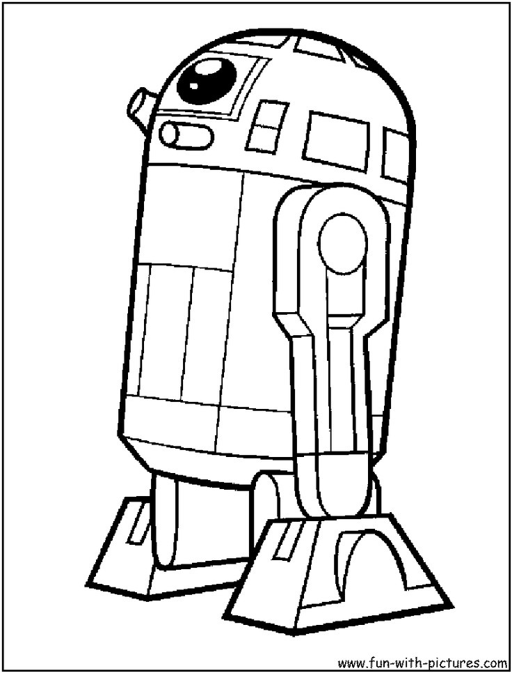 Lego Star Wars Coloring Pages  Lego Star Wars Darth Vader Coloring Page Free Printable