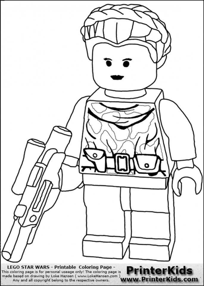 Lego Star Wars Coloring Pages To Print  Get This Free Lego Star Wars Coloring Pages to Print