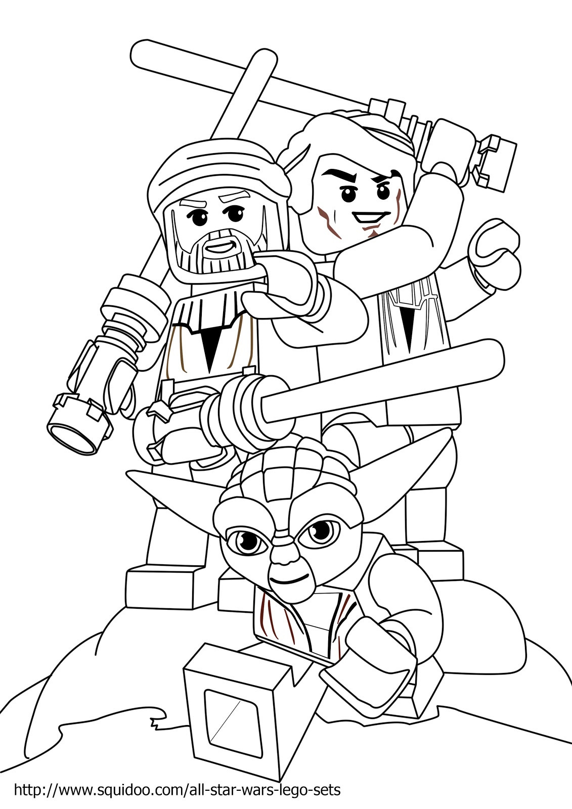 Lego Star Wars Coloring Pages To Print  Free Coloring Pages Lego Star Wars