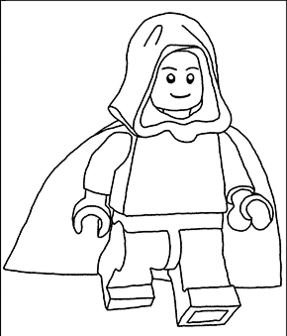 Lego Star Wars Coloring Pages To Print  Star Wars Lego Coloring Pages coloringsuite
