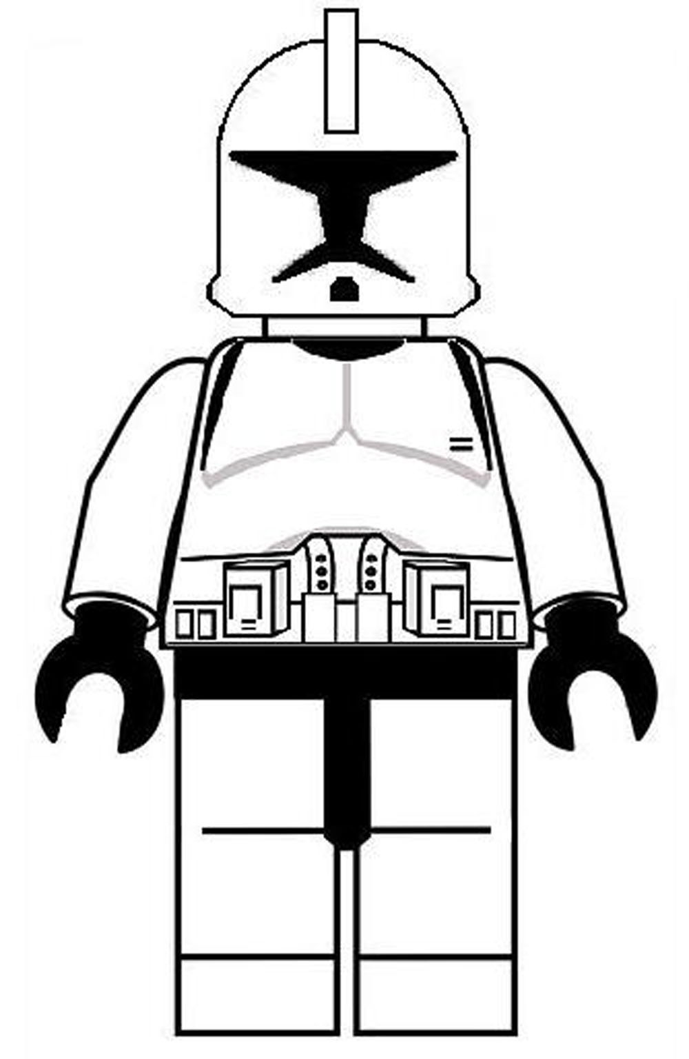 Lego Star Wars Coloring Pages To Print  Lego Star Wars Coloring Pages Bestofcoloring