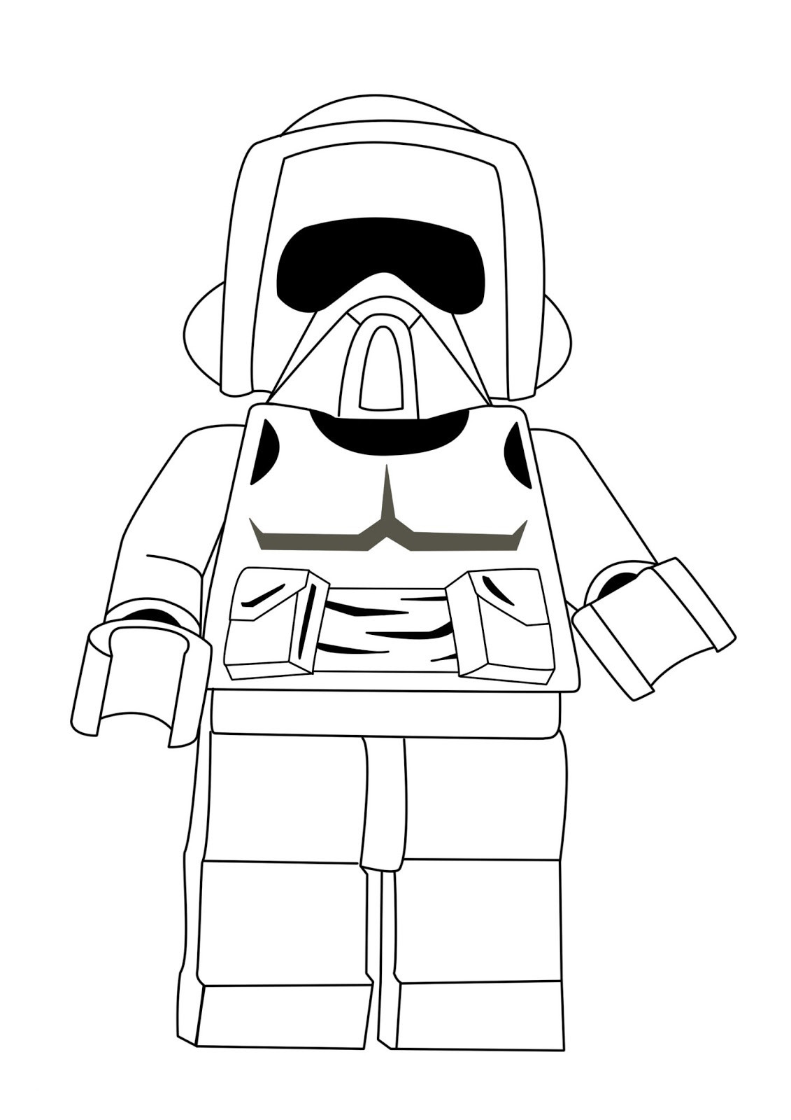 Lego Star Wars Coloring Pages To Print  Lego Star Wars Coloring Pages Best Coloring Pages For Kids